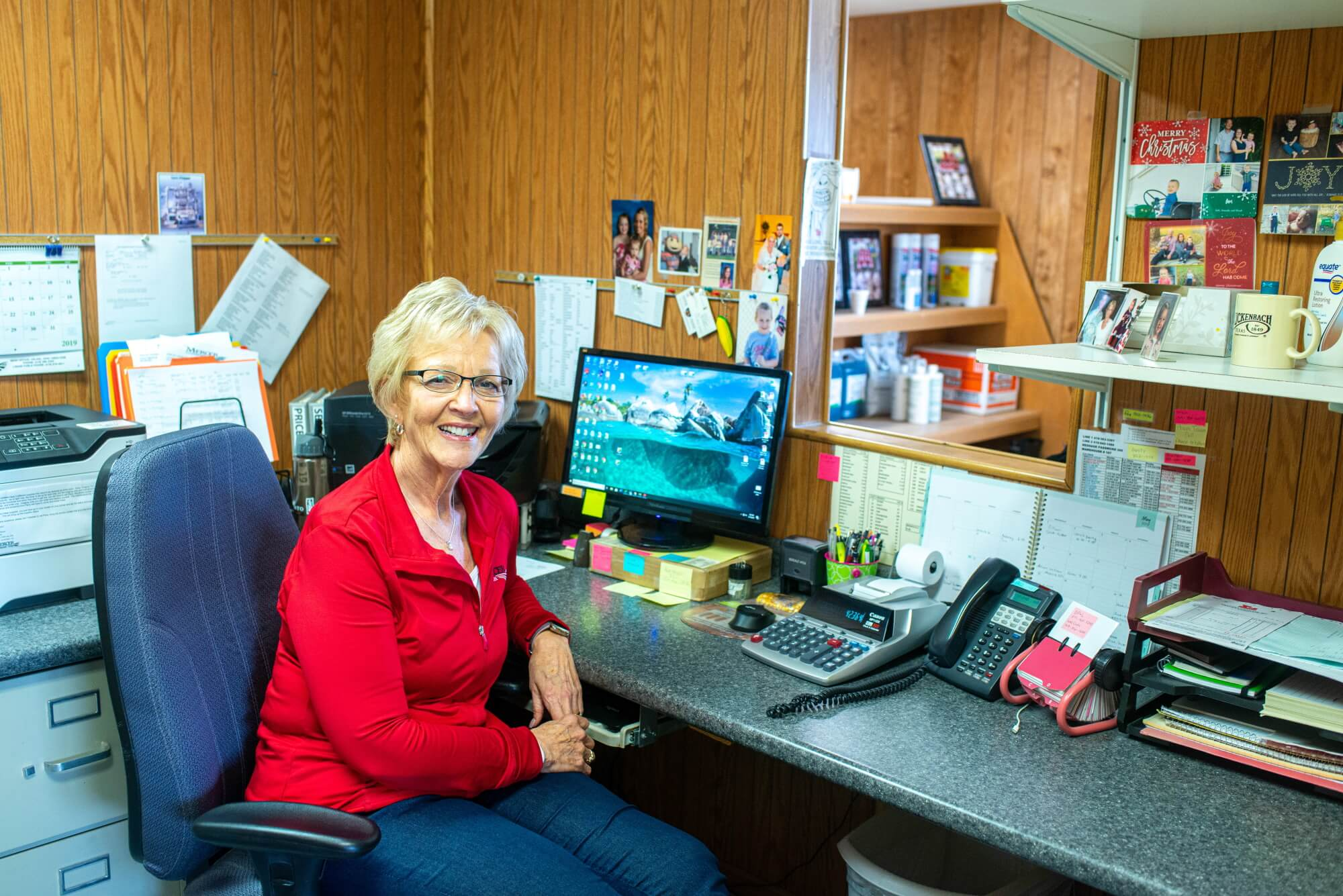 Suzy Smalley retires after 35 1/2 years with Mercer Landmark
